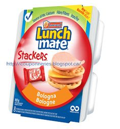 Coupons et Circulaires: 1$ LUNCHMATE STACKERS Coupons, Lunch, Drinks, Food, Bologna, Group, Projects, Drinking, Beverages
