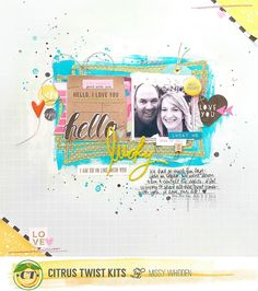 Citrus Twist Kits Sunday Sketch January 17, 2016 with Missy Whidden