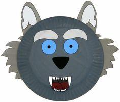 Werewolf Plate Project for Preschoolers