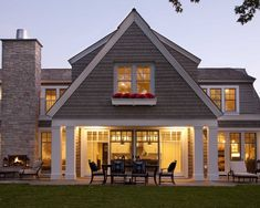 Exterior Contemporary Colonial Homes Design, Pictures, Remodel, Decor and Ideas - page 216