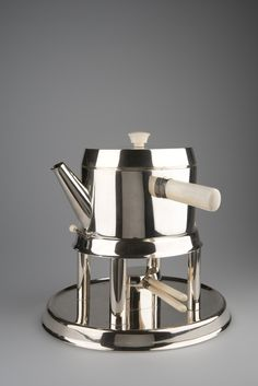 ** Hoffmann, Josef, Wiener Werkstätte, Tea Pot