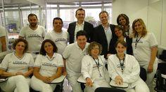 Visita do novo presidente da L'Oréal, Sr. Didier Tisserand, na unidade do Tatuapé