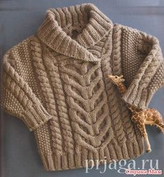 Free Baby Knitting Patterns For Aran Wool Free Aran Knitting Patterns Baby Knitting Patterns, Baby Sweater Patterns, Knitting For Kids, Baby Patterns, Crochet Baby Cardigan, Knit Baby Sweaters, Knitted Baby Clothes, Cable Sweater, Baby Jumper