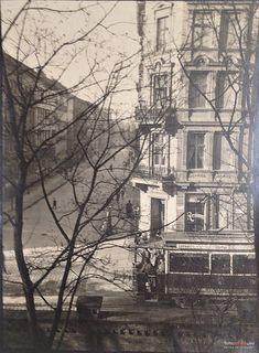 Lata 1910-1920, Tramwaj Berolina na ul. Pułaskiego widok z klasztoru Bonifratrów