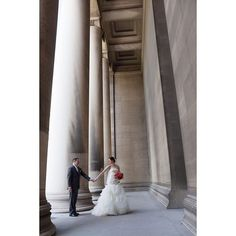 """Magical Architecture right in our own back yard.  CMU in Oakland. Aka """"Gotham City Hall""""   #wedding #bride #pittsburgh #pittsburghwedding #bridalportaits #pittsburghweddingphotographer #destinationphotographer #pghwedding #weddingday #burghbride #krystalhealyphotography"""