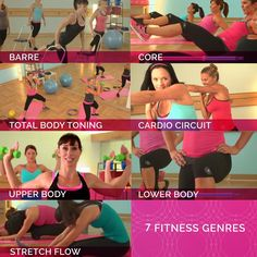 fe fit fitness genres