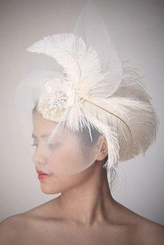 Incredible Wedding Hats That Make You Unique ❤ See more: http://www.weddingforward.com/wedding-hats/ #weddings
