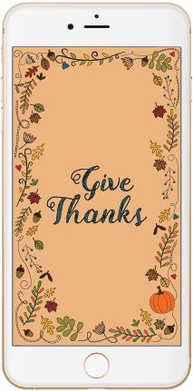 Thanksgiving wallpaper for your phone: Get in the holiday spirit instantly!