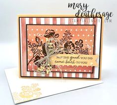 Stampin' Up! Peachy Shaded Summer Thank You!   Stamps – n - Lingers Color Contour, Past Papers, All Things Fabulous, Stampin Up Catalog, Glue Dots, Stamping Up Cards, Panel Art, Kauai, Flower Cards