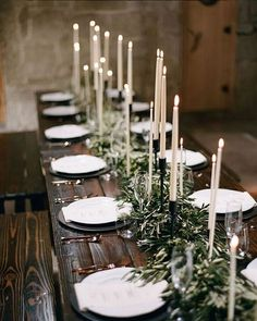 Sometimes, the holiday season can be overwrought with too much of everything. If that's where you're at, find a place or moment of simplicity to think on and cherish. Styling and Design: @kelseyraedesigns | Photo: @bryanmillerphoto | Floral Design: @carlakayes | Venue: @temeculacreekinn | Calligraphy: @seniman_calligraphy | Rentals: @rustic_events #winterwedding #weddingdecor #centerpiece #greenery #garland
