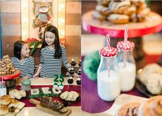 The Night Before Christmas Theme Editorial Shoot - Santa Treats Spread The Night Before Christmas, Christmas Themes, Party Themes, Editorial, Santa, Treats, Food, Sweet Like Candy, Nightmare Before Christmas
