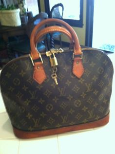 Gorgeous Vintage Louis Vuitton ALMA PM Handbag by TheEuropeanDoor, $429.00