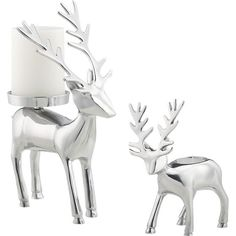 Reindeer Candleholders in Winter Clearance Sale | Crate and Barrel