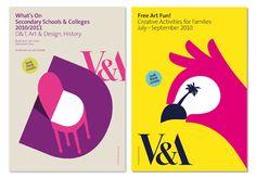 V Learning & Interpretation - Branding for the V Education Department, illustrations by Noma Bar