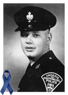 Today, we remember the anniversary of a fallen officer, Constable John Robert Maki (August 22, 1935 – April 4, 1966). On April 4, 1966, Cst. Maki was responding to a complaint of a man walking on a road discarding his clothing. A struggle ensued when the man tried to flee. He was able to remove Cst. Maki's revolver from his holster and fire five shots, killing him. The man was later found not guilty of the murder by reason of insanity. Cst. Maki was survived by his wife Marilyn.