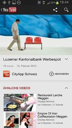 Video Integration  Youtube, Vimeo kann auch in die POI Online integriert werden. Mp4 Videos können auch in Offline Modus angeschaut werden.