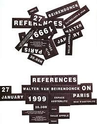 Invitation for Walter Van Beirendonck by Paul Boudens Corporate Design, Business Design, Typography Layout, Lettering, Booklet Layout, Poster Text, Walter Van Beirendonck, Type Posters, Website Layout