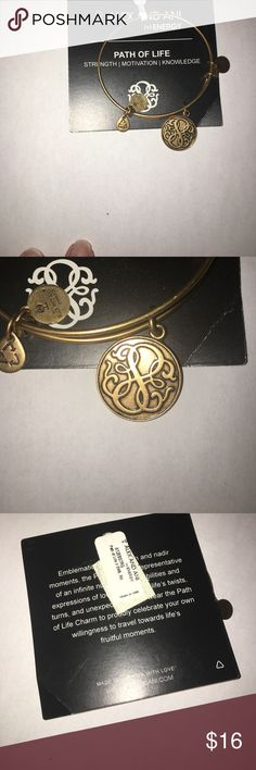 Alex and Ani Path Of Life bracelet Perfect to start a new collection of bangles or add on to the ones you already have. This is also a great birthday or graduation gift Alex & Ani Jewelry Bracelets