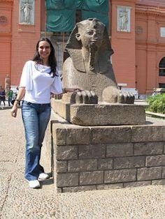 Egito, um sonho de vida...#viajarcorrendo #egito #egypt #cairo #museudocairo #cairomuseum