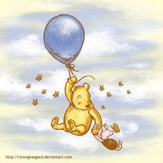 Just hang on piglet!