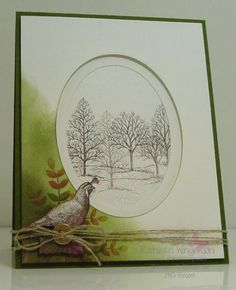 Walk in the Wild -- Masculine/Fall by tyque - Cards and Paper Crafts at Splitcoaststampers
