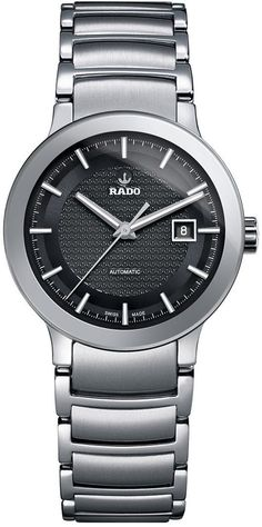 Rado Watch Centrix Sm #bezel-fixed #bracelet-strap-steel #brand-rado #case-material-steel #case-width-28mm #date-yes #delivery-timescale-4-7-days #dial-colour-black #gender-ladies #luxury #movement-automatic #official-stockist-for-rado-watches #packaging-rado-watch-packaging #style-dress #subcat-centrix #supplier-model-no-r30940163 #warranty-rado-official-2-year-guarantee #water-resistant-30m