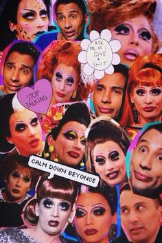 """Bianca Del Rio. """"Calm down Beyonce."""" One of her best quips."""