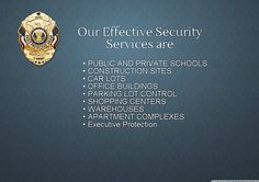 Eagle Protective Group provides armed and unarmed security officers licensed by the State of Texas