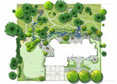 Studio 342 Landscape Architecture - Cougar Mountain Residence, Bellevue, Washington