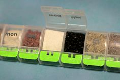 Make A Portable Spice Kit For On The Go Flavor. For camping!