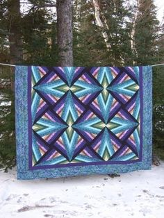 I am completely obsessed with this design!  blue quilt by twinsgmom