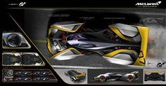"""196 curtidas, 3 comentários - CarDesign.ru (@cardesign.ru) no Instagram: """"McLaren Ultimate Vision Gran Turismo official sketch by Alex Alexiev (@alexiev_alex) #cardesign…"""""""