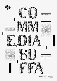 Terra na Boca posters series by Sergio Alves, via Behance