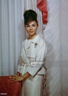Farah Diba Pahlavi (b.1938), the third wife of Mohammed Reza Pahlavi, the late Shah of Iran. New York, 1962.