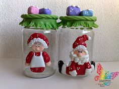Polymer Clay Christmas, Polymer Clay Crafts, Rose Crafts, Diy Crafts, Christmas Cross, Christmas Ornaments, Christmas Cake Decorations, Clay Animals, Clay Flowers