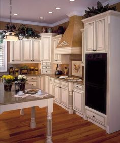 Coventry Ivory Chocolate traditional kitchen cabinets