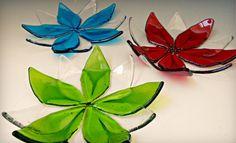Flores de vidrio fundido