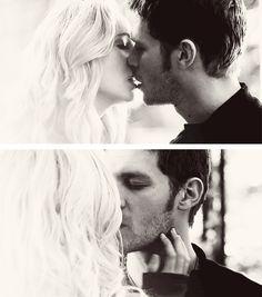 Klaroline. Klaus and Caroline. Vampire Diaries.