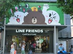 LINE has got a LINE themed cafe and a flagship store right in one of our favourite travel destinations— Seoul!