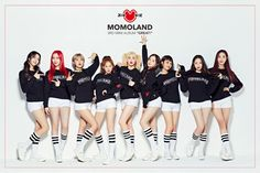 After Momoland got into a plagiarism controversy for Boomboom, they trended on Melon and their song shoot up to on the charts. Nancy Jewel Mcdonie, Nancy Momoland, K Pop, South Korean Girls, Korean Girl Groups, Daisy, Pre Debut, Great Albums, Steve Aoki