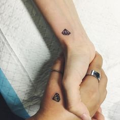 For the couple who's love is as strong as a diamond and shines just as bright. RELATED: The Real Story Behind This Viral Miscarriage Tattoo