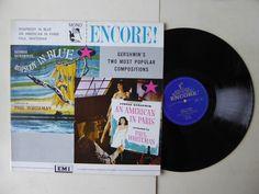 Rhapsody In Blue - An American In Paris George Gershwin Vinyl LP EMI ENC 123  http://www.ebay.co.uk/itm/Rhapsody-In-Blue-An-American-In-Paris-George-Gershwin-Vinyl-LP-EMI-ENC-123-/231988877474