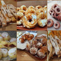 Pączki drożdżowe bardzo stary i sprawdzony przepis - Swojskie jedzonko Doughnut, Nutella, Food, Kitchens, Essen, Meals, Yemek, Eten