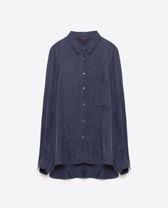 Image 8 of OVERSIZED SHIRT from Zara
