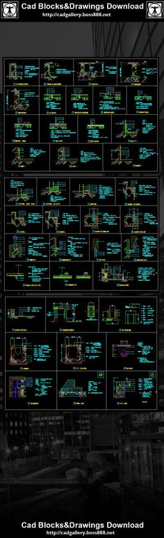 Download Detail Tangga Dwg : download, detail, tangga, Autocad