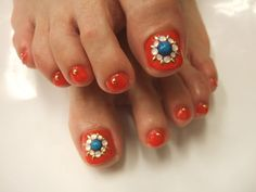 Ever tried toe nail art?