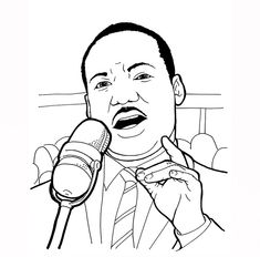 Free Printable Dr Martin Luther King Jr Coloring Sheet Is One Of