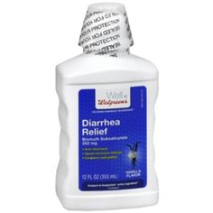 I'm learning all about Walgreens Diarrhea Relief Liquid Vanilla at @Influenster!