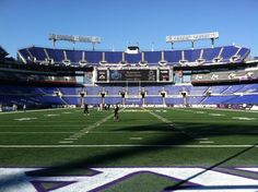 The calm before the storm at M Bank Stadium. #Ravens http://www.baltimoreravens.com/gameday/game/2012/regular10/