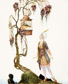"""by Willy Pogany, from """"Arabian Nights"""""""